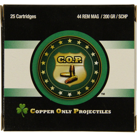 Picture of .44 Magnum COP 200gr SCHP - 25 Rounds