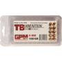 Picture of 9mm Luger TB Ammunition 100gr GPM Quadra-Shock - 50 Rounds