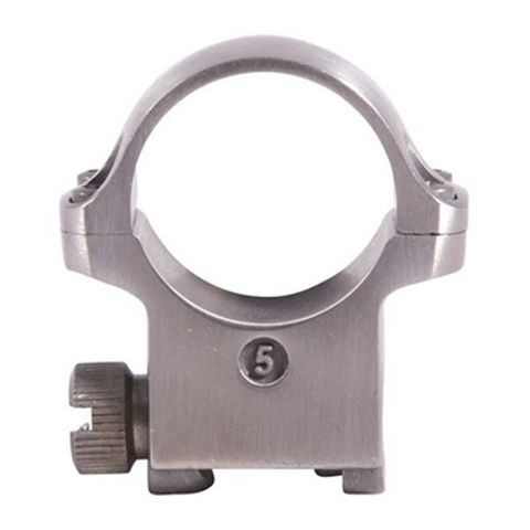 """Picture of Ruger 5K High Scope Ring 1""""  Stainless"""