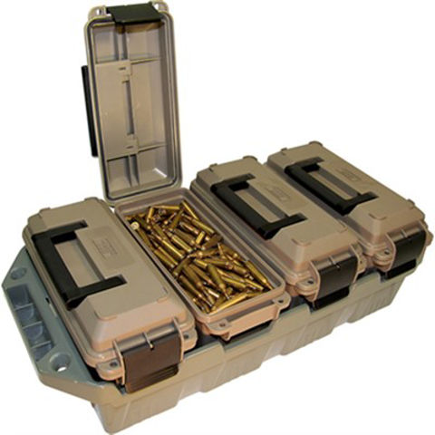 Picture of MTM 4-Can Ammo Crate 30 Cal Dark Earth