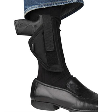 Picture of Bulldog RH Black Ankle Holster SC 2-3 in bbl