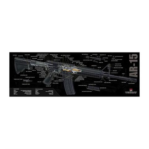 Picture of AR-15 3D Cutaway Mat