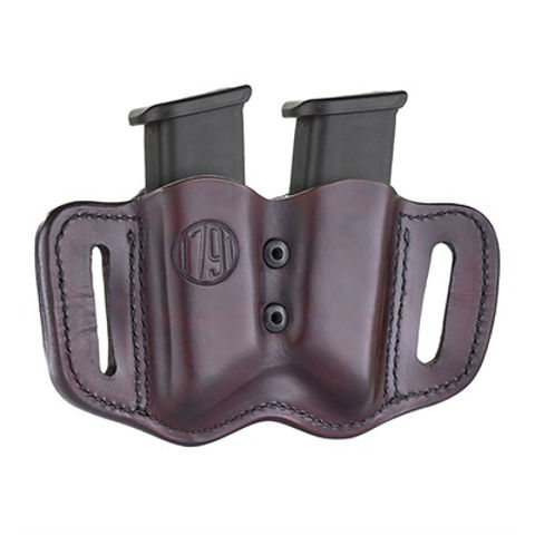 Picture of Double Stack Adjustable Magazine Holster Classic Brown