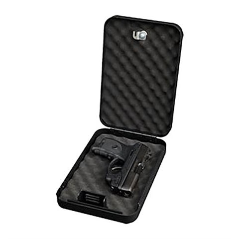 Picture of Personal safe w/key lock & security cable - Blk