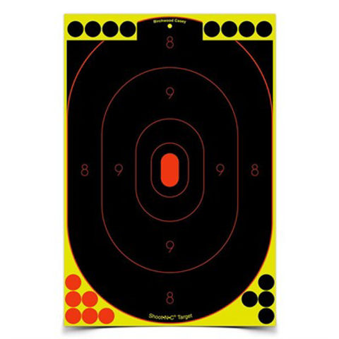 """Picture of Shoot-N-C 12""""x18"""" Silhouette Target 5 Sheet Pack"""