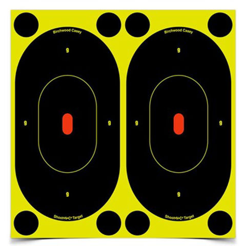 """Picture of Shoot-N-C 7"""" Silhouette Target 30 Sheet Pack"""