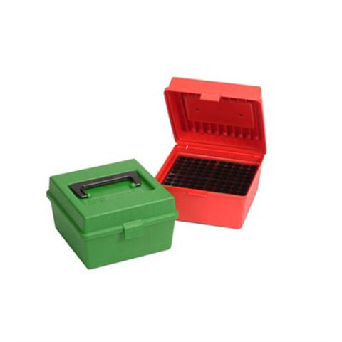 Picture of MTM  Deluxe Ammo Box 100 Round Handle WSM WSSM Ultra Mag