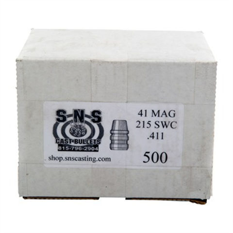 Picture of SNS Cast Bullets 41 CAL (.411) 215gr SWC - 500 Count