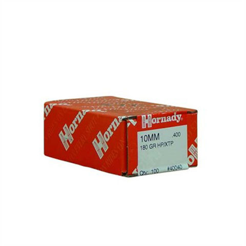 Picture of Hornady 10mm (.400) 180gr HP/XTP - 100 Count