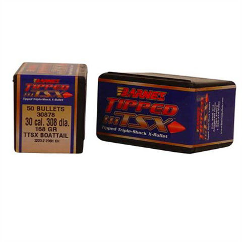 AmmoMart | Barnes Bullets 30 CAL (.308) 168gr TTSX-BT - 50 ...