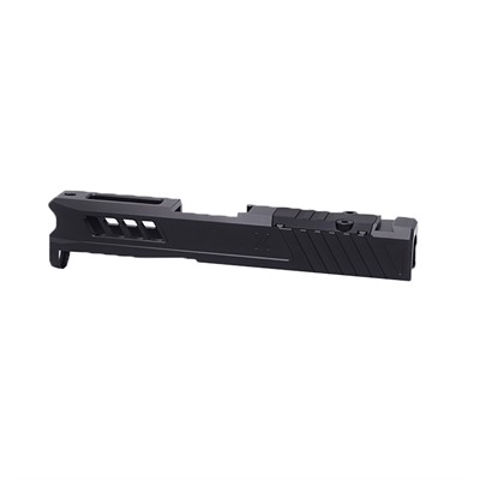 Picture of Glock 43 Slide RMS Cut & Cover Plate Blk DLC