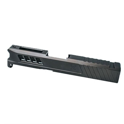 Picture of Glock 43 Slide RMS Cut & Cover Plate Stealth Grey