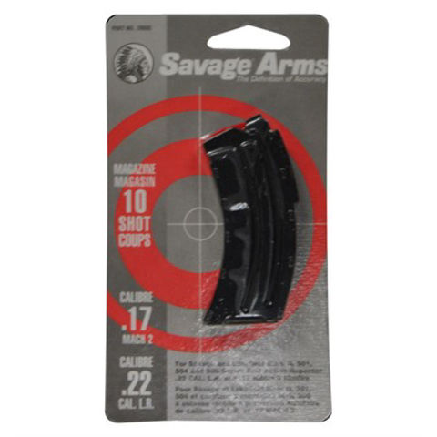 Picture of Savage Magazine MK-II 22LR/17 Mach 2 10rd Blued