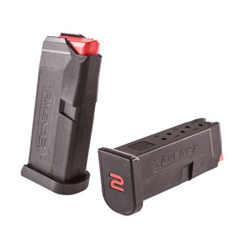 Picture of Amend2 Glock 43 6 Round Black Magazine