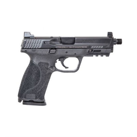 """Picture of M&P 2.0 Threaded Bbl 9mm 4.62"""" Blk 17rd"""