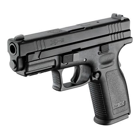 Picture of Springfield Defender 9mm 4in bbl 16rd Black HC