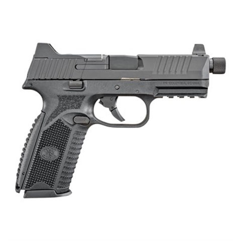 """Picture of FN 509 TACTICAL NMS NS  9mm 4.5"""" 17/24rd BLK/BLK"""