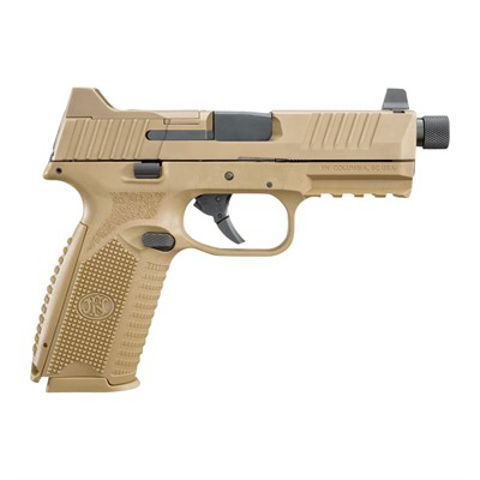 """Picture of FN 509 TACTICAL NMS NS 9mm 4.5"""" 17/24 rd FDE/FDE"""