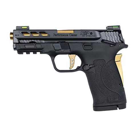 """Picture of S&W M&P380 Shield EZ M2.0 3.8"""" 8rd Gold bbl"""