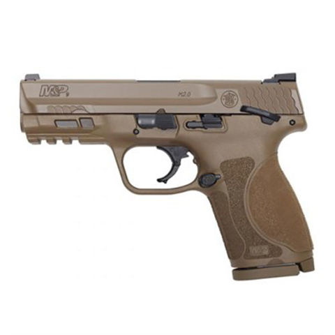 """Picture of SW M&P9 M2.0 Compact 9mm 4""""bbl 15rd NTS FDE"""