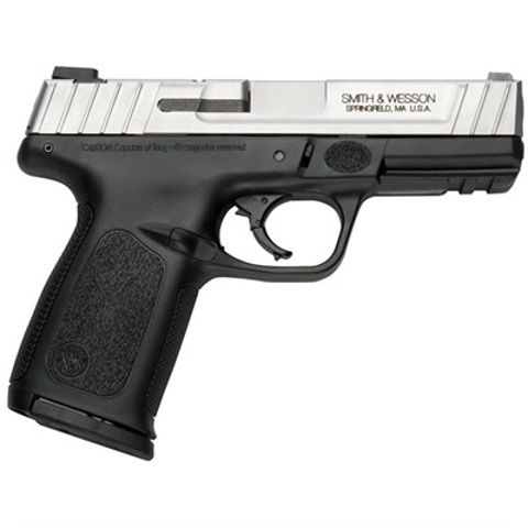 """Picture of Smith & Wesson SD9 VE 9mm 4""""  Barrel Stainless"""