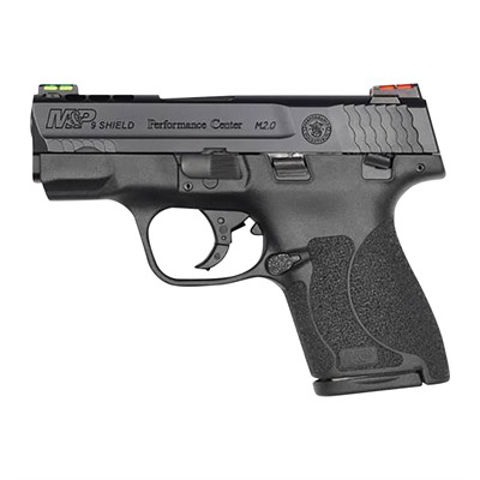 """Picture of S&W M&P9 Shield M2.0 PC 3.1"""" bbl HV Sights Ported 7rd & 8rd Mags"""