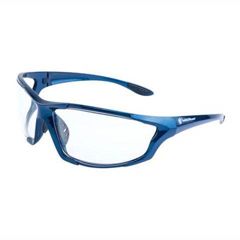 Picture of S&W Major Blue Frame/Clear Lens Glasses