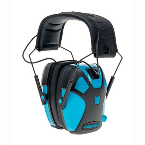 Picture of Youth E-Max Pro Electronic Earmuff Neon Blue