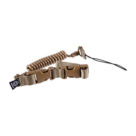 Picture of Tactical Retention Lanyard Pistol Leash-Coyote Brown