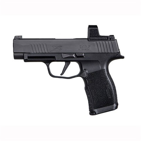 Picture of P365, 9MM, 3.7IN, X-SERIES, BLK, STRIKER, X-RAY 3 W/NS PLATE, MOD