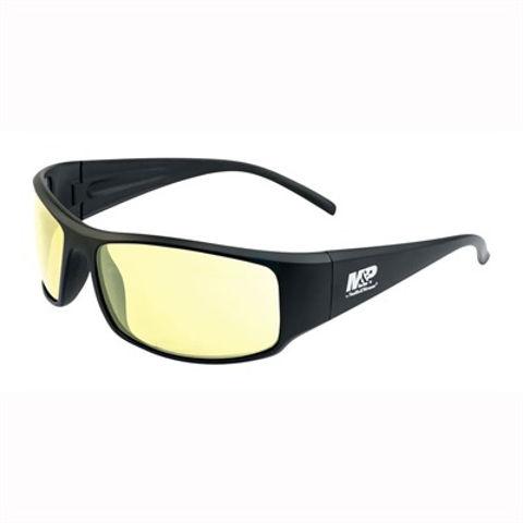 Picture of M&P Thunderbolt Black Frame/Amber Lens Glasses