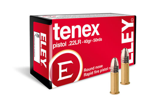 Picture of .22 Long Rifle Eley Tenex Pistol 40gr RN - 50 Rounds