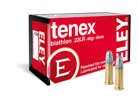 Picture of .22 Long Rifle Eley Tenex Biathlon 40gr FN - 50 Rounds