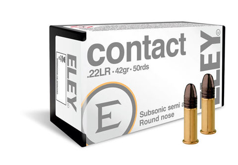 Picture of .22 Long Rifle Eley Contact 42gr RN - 50 Rounds