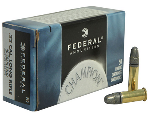 Picture of .22 Long Rifle Federal Champion 40gr RN - 50 Rounds