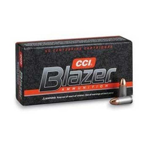 Picture of 9mm Luger Blazer 115gr FMJ Aluminum Case- 50 Rounds