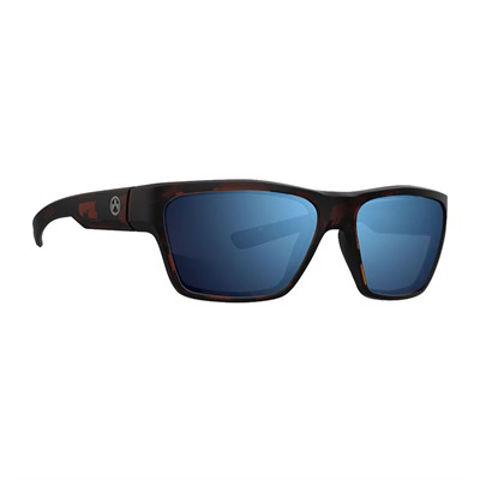 Picture of Glasses Tortoise Frame/Bronze Lens w/Blue Mirror Polarized