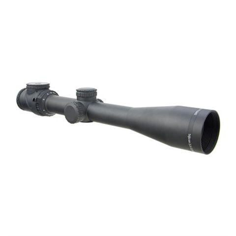 Picture of 2.5-12.5x42mm SFP Green MIL-Dot Crosshair Reticle MT Blk