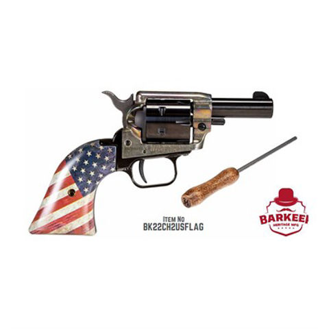 Picture of BARKEEP 22LR BK/CH 2'' 6 RDS USFLAG
