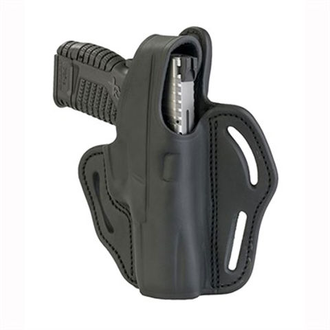 Picture of BHX Thumb Break Belt Holster Stealth Black RH Size 3