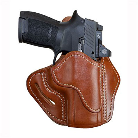 Picture of Optic Ready Belt Holster Compact 2.4S Classic Brown RH