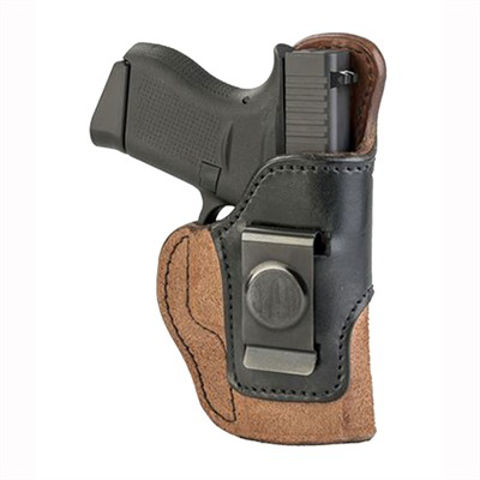 Picture of Rigid Concealment Holster Size 3 Brown on Black RH