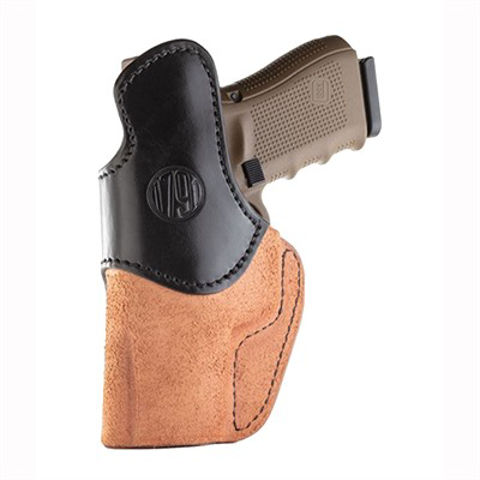 Picture of Rigid Concealment Holster Size 4 Brown on Black RH
