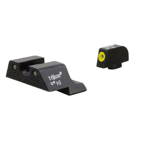 Picture of HD XR Night Sight Set-Glock~ 17,19,22,26,32,37 Yellow Frnt