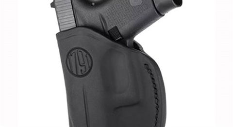 Picture of 2 Way Holster Stealth Black RH Size 3